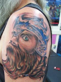 Shoulder Viking Tattoos 2