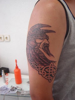 Shoulder Tattoo Ideas With Viking Tattoo Designs With Picture Shoulder Viking Tattoo Gallery 3