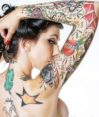 Sexy Tattoo Women