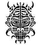 Tribal Tattoos With Image Mask Tribal Tattoo Designs Picture 1