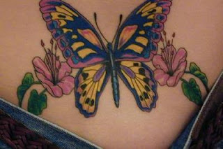 Lower Back Tattoos With Image lower Back Butterfly Tattoo Designs With Tribal Butterfly Tattoo Picture 7