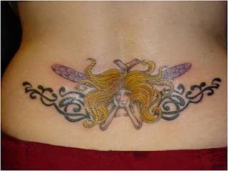 Lower Back Tattoos With Image Lower Back Butterfly Tattoo Designs With Butterfly Tribal Tattoo Picture 3