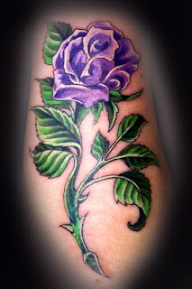 Beautiful Rose Flower Tattoo Designs 1