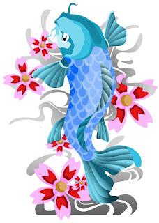 Beautiful Japanese Koi Fish Tattoo Designs 5