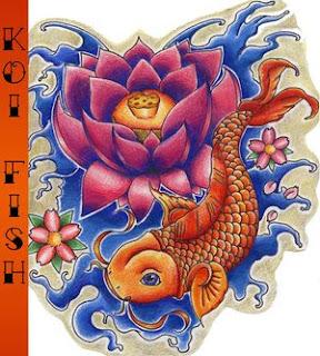Beautiful Koi Fish Tattoo Designs 6
