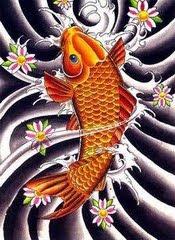 Beautiful Koi Fish Tattoo Designs 2