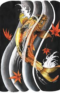 Beautiful Koi Fish Tattoo Designs 1