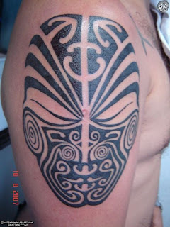 Upper Arm Maori Tattoo