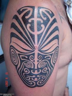 Upper Arm Maori Tattoo