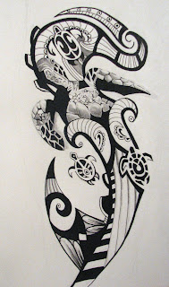 New Style Maori Tattoo Design