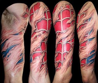 3D Tattoos Muscle
