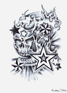 Free temporary skull tattoo designs collection 2010