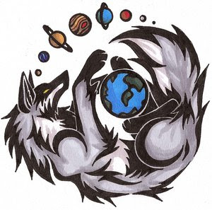 Wolf Tattoo Design 7