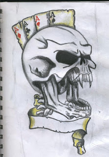 Skull Tattoo Design 4