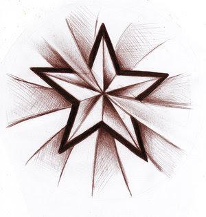Star Tattoo Design 6
