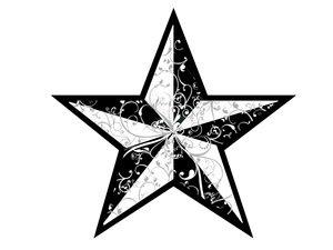 Star Tattoo Design 5