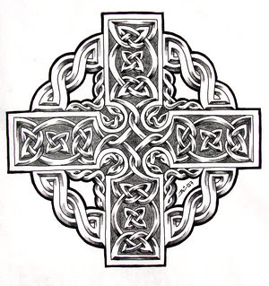 Celtic Cross Tattoo Design Picture 4