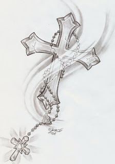Beautiful Art of Tattoos Design With Image Cross Tattoo Design Picture 1