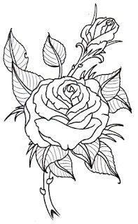 Beautiful Art of Tattoos Design With Image Flower Rose Tattoo Design Picture 2