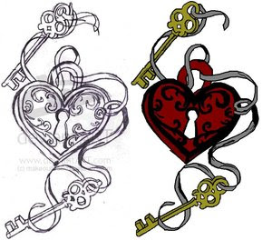 Beautiful Art of Tattoos Design With Image Heart Tattoo Design Picture 7
