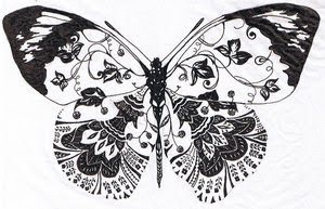 Beautiful Art of Tattoos Design With Image Butterfly Tattoo Design Picture 8
