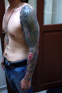 Japanese Tattoos With Image Japanese Koi Fish Tattoo Designs Especially Japanese Koi Fish Sleeve Tattoo Picture 4