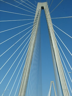 Arthur Ravenel Bridge, SC - between Charleston and Mt. Pleasant
