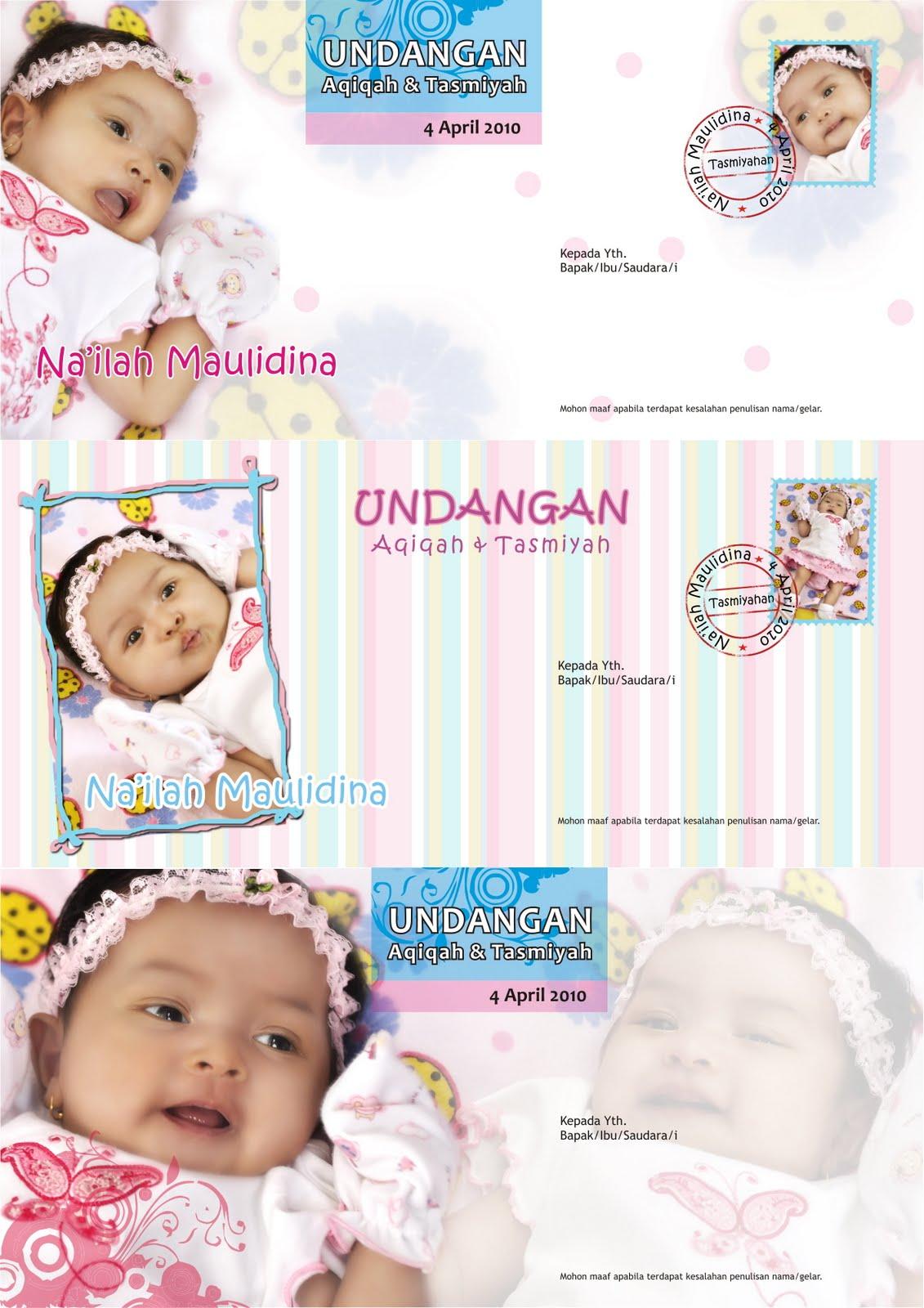 Desain Kartu Undangan Ulang Tahun