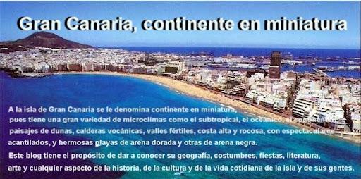 Gran Canaria, continente en miniatura