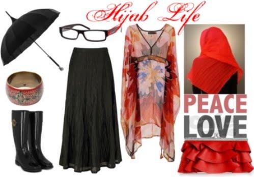 Hijab Life: Hijab Life: Peace Love