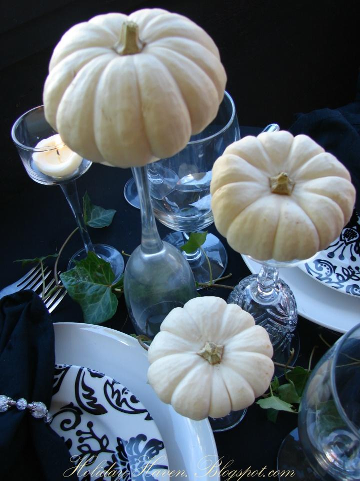 Primed4design diy tips tricks white pumpkin centerpieces for White pumpkin table decorations
