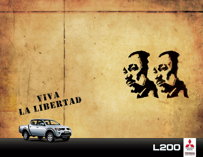 Martin Luther King (Campaña Viva La Libertad L200 Mitsubishi)