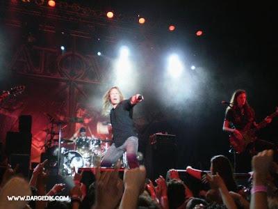 detelles del concierto Stratovarius_Lima_2009