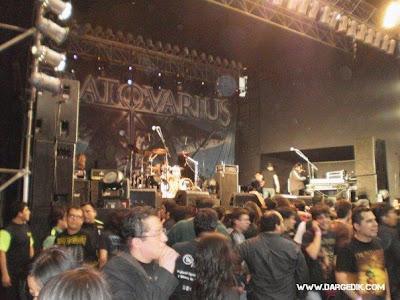 detelles del concierto Escenario_stratovarius_lima