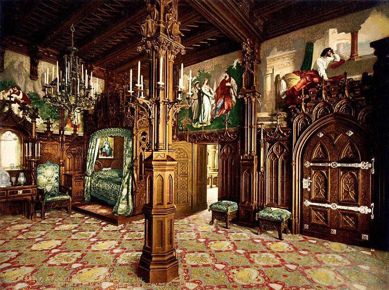 castle canopy bed switzerland fussen neuschwanstein castle