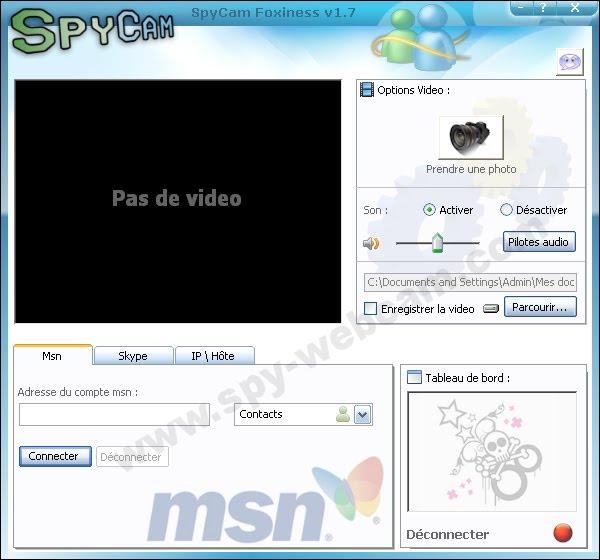comment pirater une webcam a distance