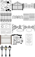 Wrought iron vectors