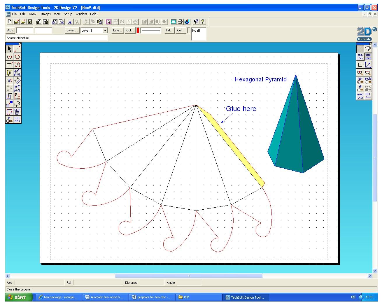 Nilesh Product Design 2 Module Task 2 Cad 2d Design