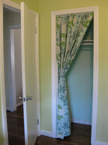Curtains For Closet Doors Pictures