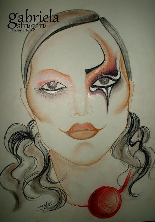 sketch -arlequin