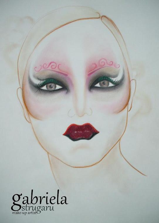 sketch- venetian mask