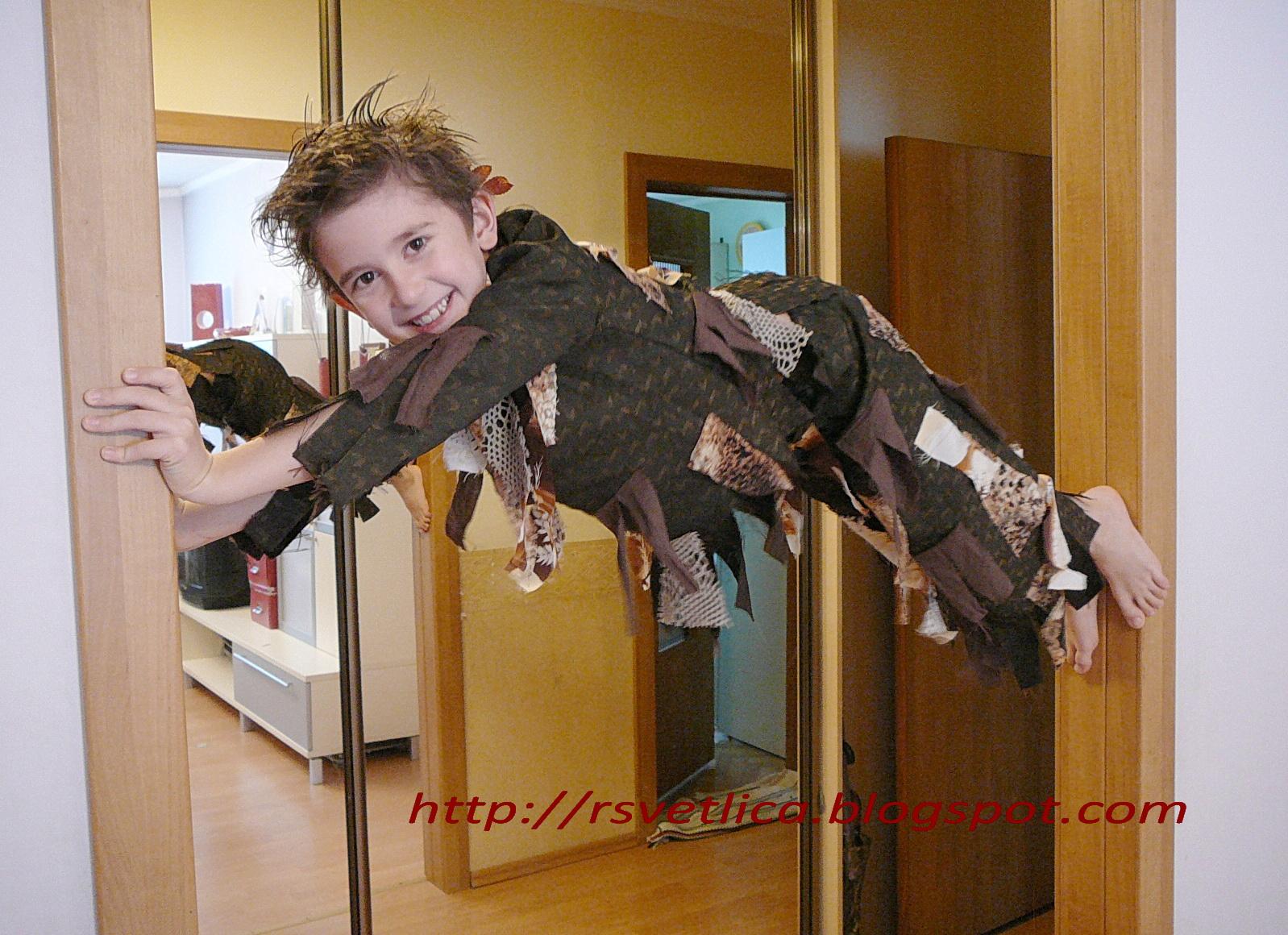 Новогодний костюм кикимора своими руками