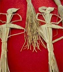 wayang suket (wayang rumput)