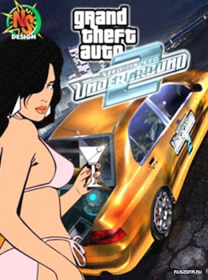 GTA VICE CITY NFS UNDERGROUND 2