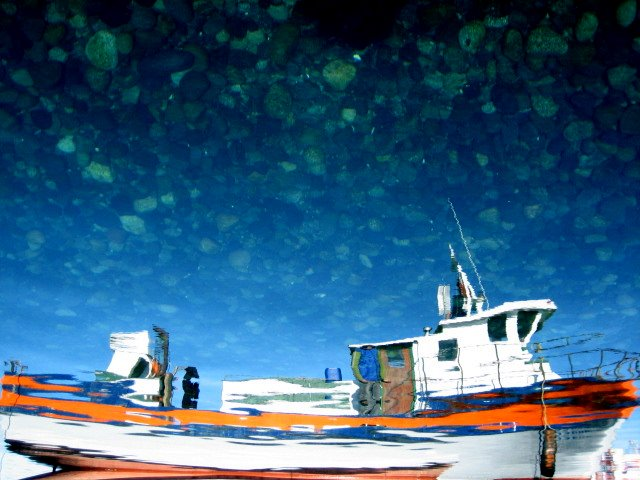 El fondo del mar, el cielo.