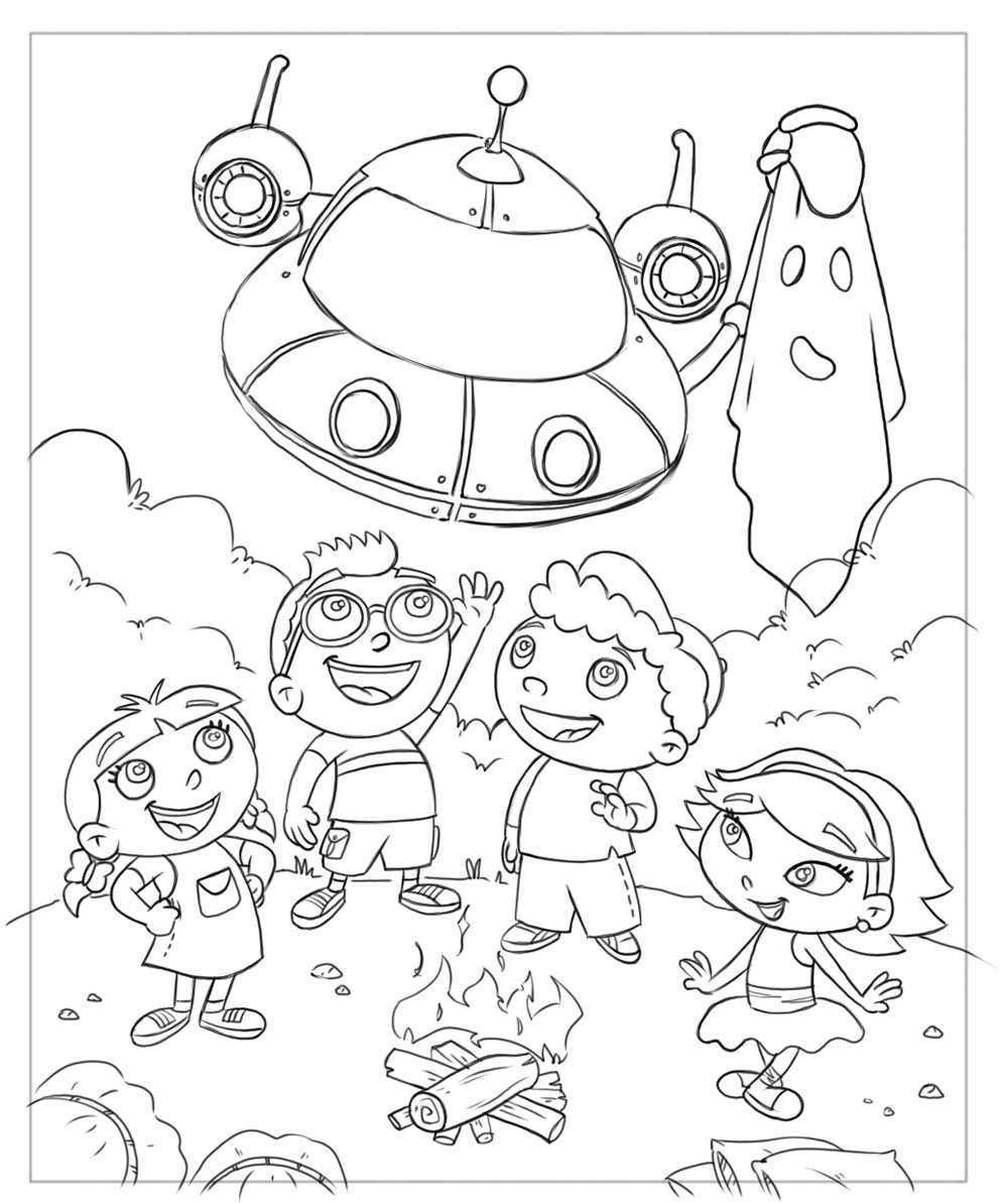 einstines coloring pages - photo#15