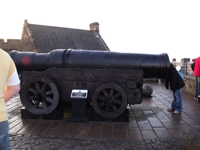 Joy investigates the Mons Meg