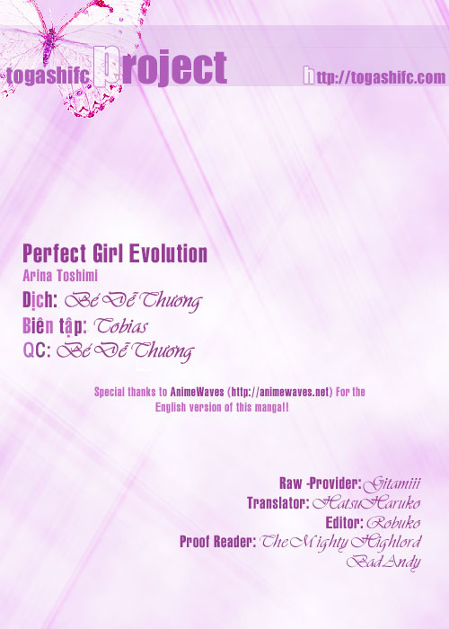 Perfect Girl Evolution chap 10 - Trang 1