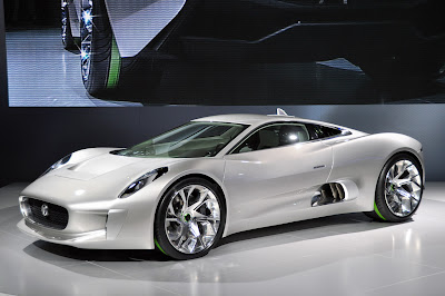 Jaguar on Jaguar C X75 Car Information