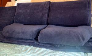 alcuni cuscini col nuovo rivestimento